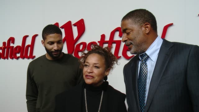 debbie allen on what brings her out, what she's most looking forward to seeing at the newly renovated westfield century city at westfield century... - debbie allen stock videos & royalty-free footage