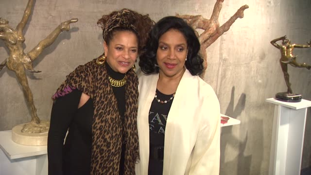 debbie allen phylicia rashad at the actress phylicia rashad makes directing debut in 'a raisin in the sun' at los angeles ca - debbie allen stock videos & royalty-free footage