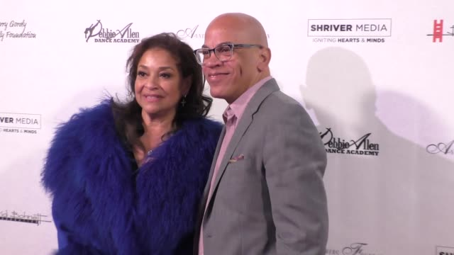 debbie allen ricky minor at the wallis annenberg center for the performing arts presents us premiere of debbie allen's freeze frame in beverly hills... - debbie allen stock videos & royalty-free footage