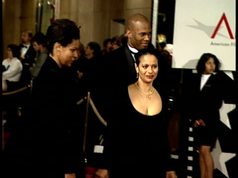 Debbie Allen walks on the red carpet