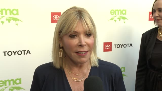 interview debbie levin at the 29th annual environmental media awards at montage beverly hills on may 30 2019 in beverly hills california - environmental media awards stock videos & royalty-free footage