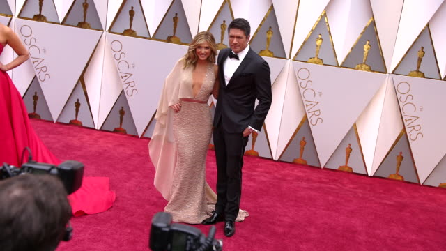 Debbie Matenopoulos at the 89th Annual Academy Awards Arrivals at Hollywood Highland Center on February 26 2017 in Hollywood California 4K