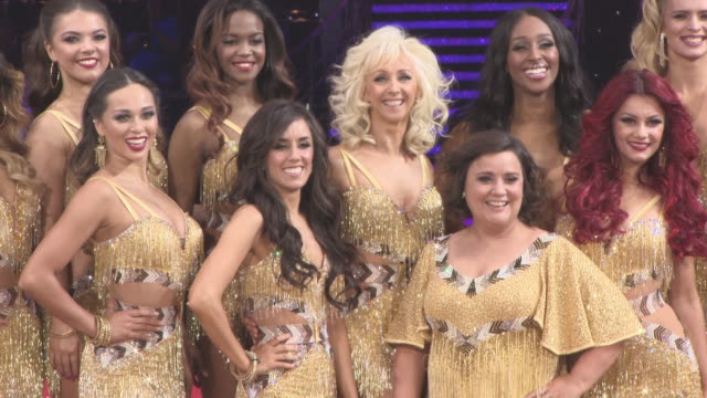 Debbie McGee Susan Calman Alexandra Burke Gemma Atkinson at 'Strictly Come Dancing' The Live Tour at Arena Birmingham on January 18 2018 in...