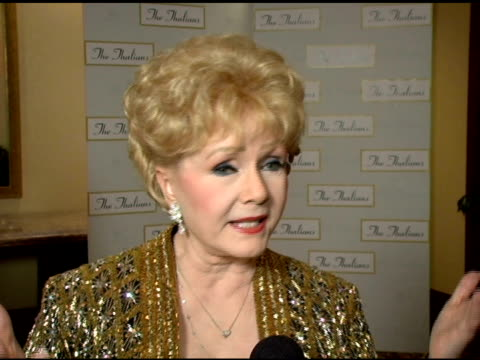 debbie reynolds on being the president of the thalians for 48 years the medical accomplishments the organization has helped achieve tom cruise's... - thalians annual ball stock videos & royalty-free footage