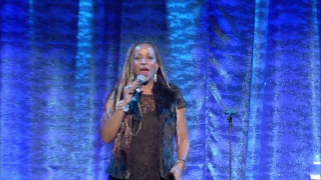 stockvideo's en b-roll-footage met performance debby holiday at the los angeles lgbt center's 47th anniversary gala vanguard awards at pacific design center on september 24 2016 in... - anniversary gala vanguard awards