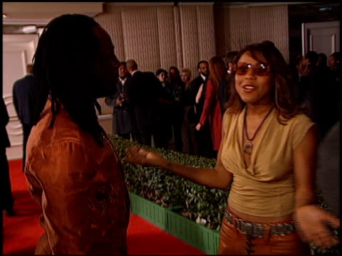 deborah cox at the clive davis' grammy awards party at the beverly hilton in beverly hills, california on february 20, 2001. - clive davis stock videos & royalty-free footage