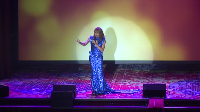 performance deborah cox performs at the trevor project's trevorlive new york at marriott marquis hotel on june 13 2016 in new york city - marriott marquis new york stock videos & royalty-free footage