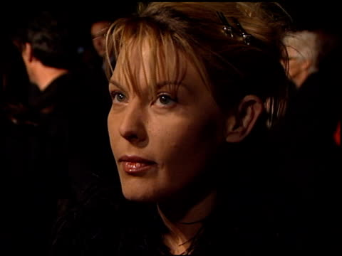 deborah unger at the 'payback' premiere at paramount studios in hollywood california on january 28 1999 - paramount studios stock videos and b-roll footage