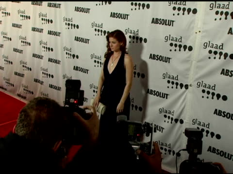Debra Messing and Husband at the GLAAD Awards at the Kodak Theatre in Hollywood California on April 8 2006