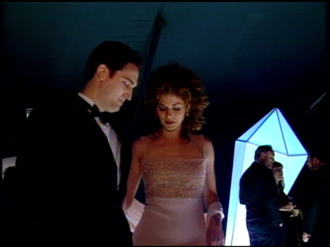 debra messing at the 1998 fire and ice ball at universal studios in universal city california on december 9 1998 - debra messing stock videos and b-roll footage