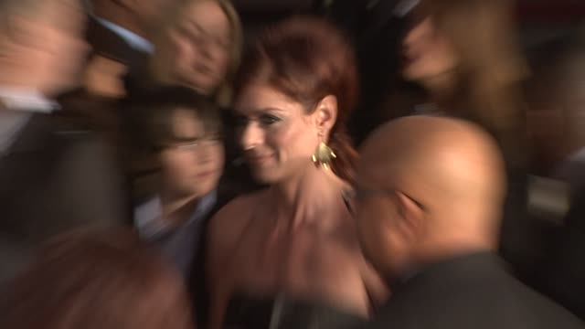 debra messing at the 35th annual people's choice awards at los angeles ca - debra messing stock videos and b-roll footage