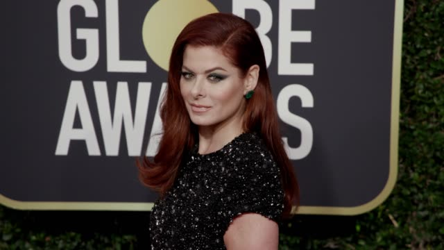 Debra Messing at the 75th Annual Golden Globe Awards at The Beverly Hilton Hotel on January 07 2018 in Beverly Hills California