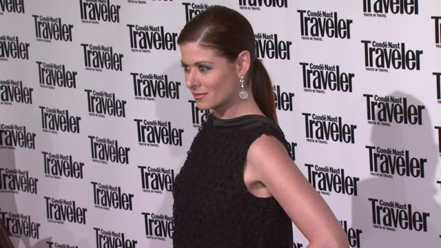 Debra Messing at the Conde Nast Traveler Celebrates 20 Years of Truth in Travel at the CooperHewitt National Design Museum in New York New York on...