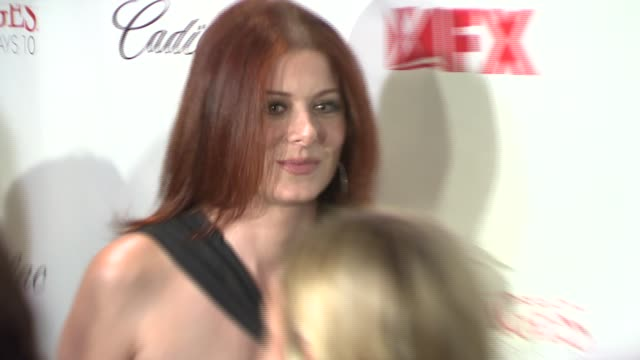 Debra Messing at the 'Damages' Premiere at the Regal Theater in New York New York on July 19 2007