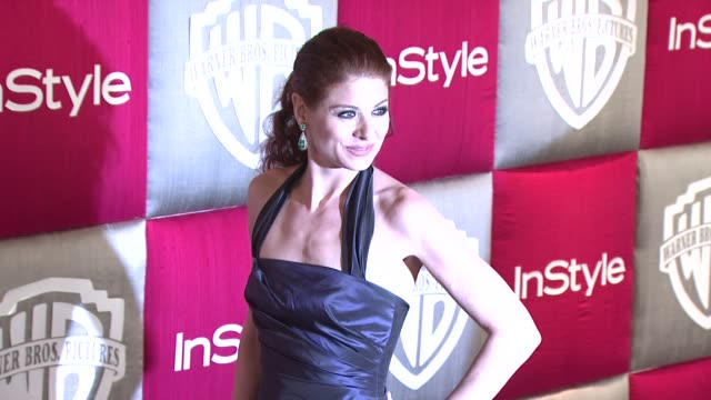 Debra Messing at the In Style and Warner Bros Studios 10th Annual Golden Globes AfterPart at Los Angeles CA