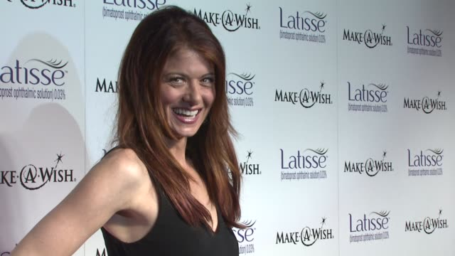 Debra Messing at the Launch Party for Latisse at Los Angeles CA