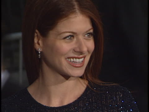 debra messing at the tv guide awards at shrine - 宗教施設点の映像素材/bロール