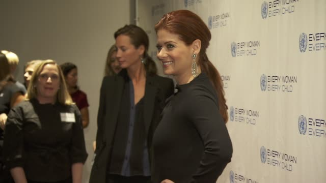 Debra Messing at United Nations Every Woman Every Child Dinner 2012 at MOMA on September 25 2012 in New York New York