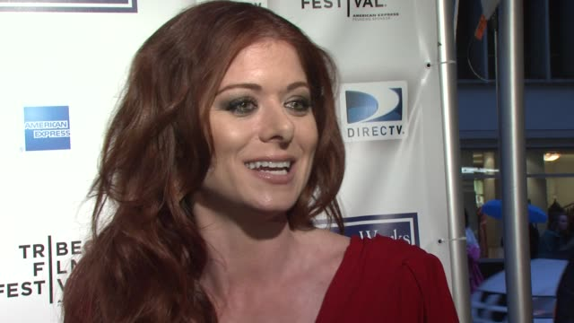 debra messing on being a juror at this year's festival she talks about working with woody allen in the past how scary and exciting that was she talks... - debra messing stock-videos und b-roll-filmmaterial