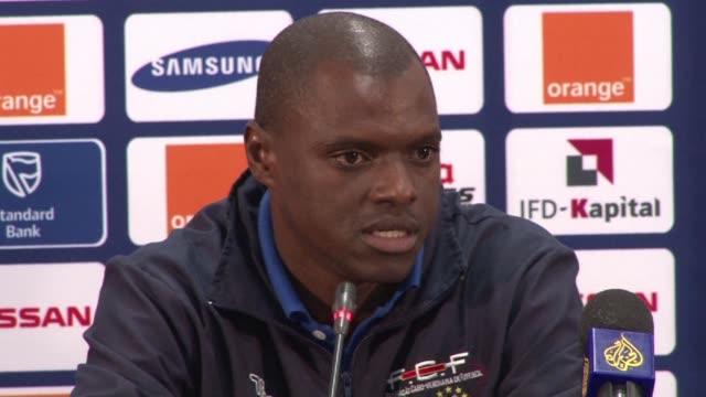 debutants cape verde face morocco in durban on wednesday in the second half of a double header that kicks off with south africa against angola and a... - quarterfinal round stock videos & royalty-free footage