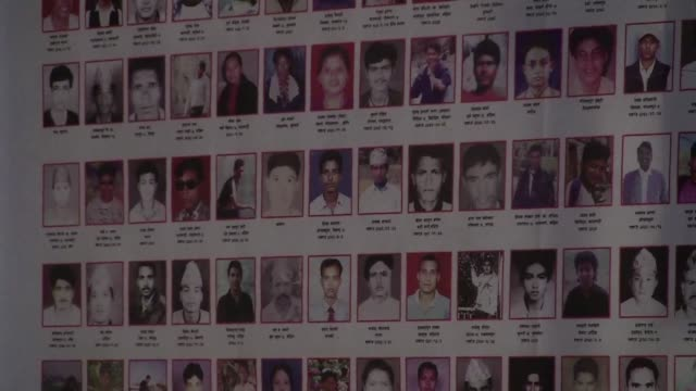 a decade after maoist rebels signed a peace pact families of victims are hoping for justice as nepal prepares to start investigations into crimes... - maoism stock videos & royalty-free footage