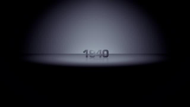 10 進ホライズンズーム 1940 - 1940年点の映像素材/bロール