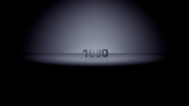 decade horizon zoom 1980 - 1980 stock videos and b-roll footage