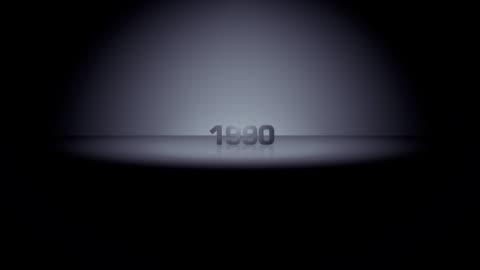 decade horizon zoom 1990 - 1990 stock videos & royalty-free footage