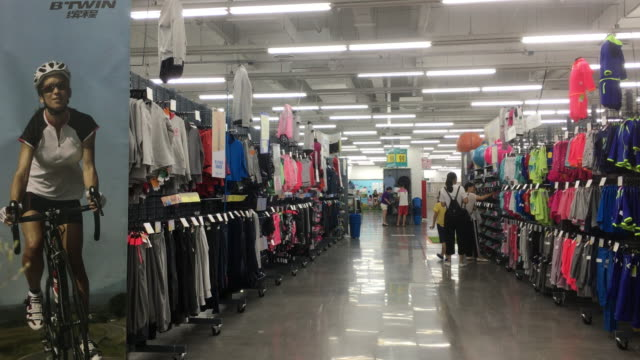 afecf07b1 Decathlon a sport goods supermarket first founded in 1976 in Lille France  currently have stores in