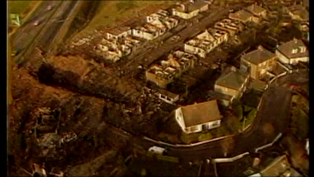 lockerbie crater left by impact of pan am flight 103 crash - lockerbie stock videos & royalty-free footage