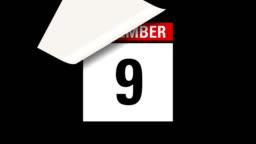 December month calendar HD