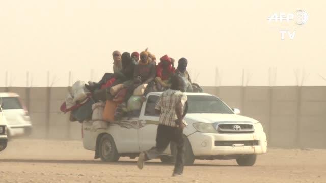 Decenas de miles de migrantes pasan por Agadez puerta del desierto en el centro de Niger el primer paso de un sueno europeo que muchas veces no se...