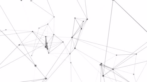 decentralized network - white background stock videos & royalty-free footage