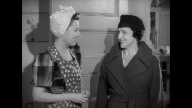 1941 A decorated children's room impresses a woman who wife (Irene Dunne) tours through the apartment