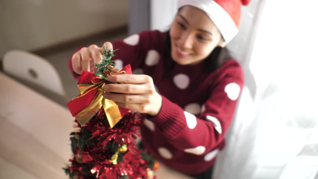 decorating the christmas tree - advent stock videos & royalty-free footage