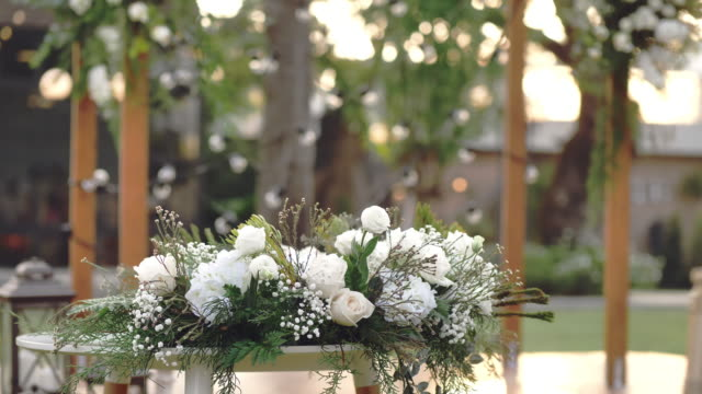 decoration chairs for wedding - continuity stock videos & royalty-free footage