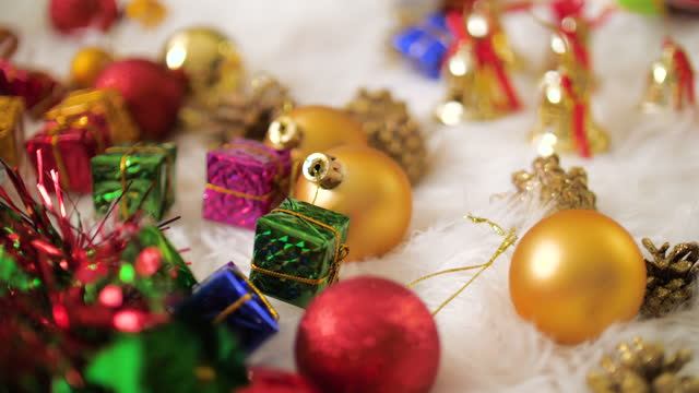 decoration christmas tree - advent stock videos & royalty-free footage