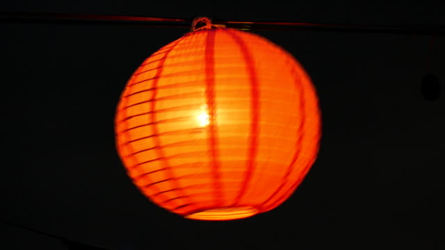 decorative traditional paper lantern in yeepeng festival - paper lantern stock videos & royalty-free footage