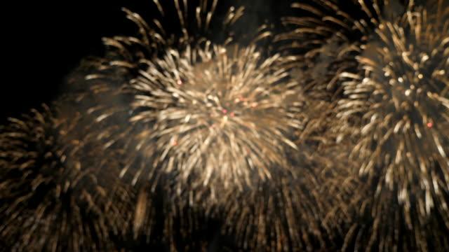 vidéos et rushes de feux d'artifice déutilisés - anniversaire d'un évènement