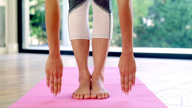 dedicate the first part of your day to body care - pilates stock videos & royalty-free footage