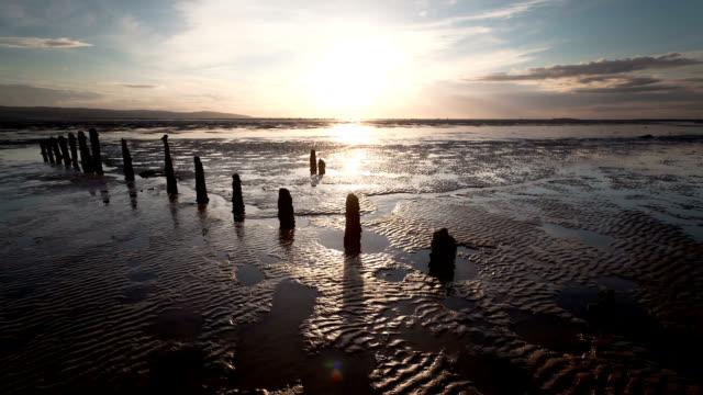 """dee estuary, timelapse"" - estuary stock videos & royalty-free footage"