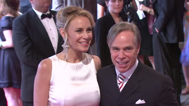 Dee Ocleppo and Tommy Hilfiger at the 'American Woman Fashioning A National Identity' Met Gala Arrivals at New York NY