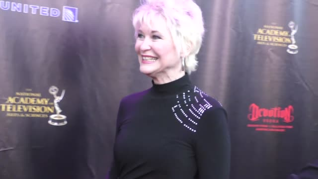 Dee Wallace Stone at the 2016 Daytime Emmy Awards Nominees Reception at The Hollywood Museum in Hollywood in Celebrity Sightings in Los Angeles