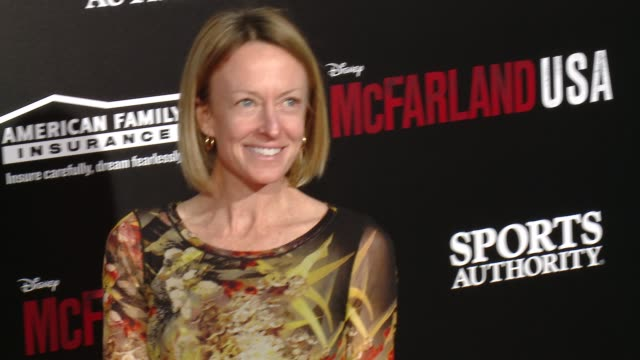 "deena kastor at the ""mcfarland, usa"" los angeles premiere at the el capitan theatre on february 09, 2015 in hollywood, california. - el capitan theatre stock videos & royalty-free footage"