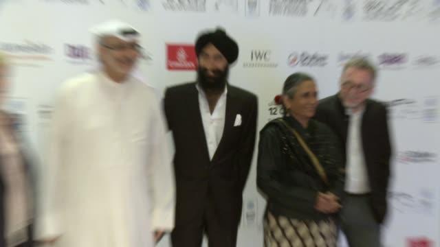 Deep Mehta at Beeba Boys Premiere Premiere 12th Annual Dubai International Film Festival at Madinat Jumeirah on December 14 2015 in Dubai United Arab...