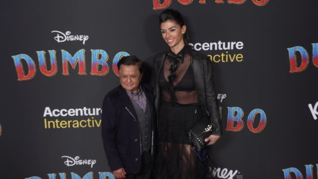 deep roy at the dumbo world premiere at the el capitan theatre on march 11 2019 in hollywood california - premiere event stock videos & royalty-free footage