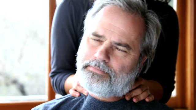 deep tissue - head massage stock videos and b-roll footage
