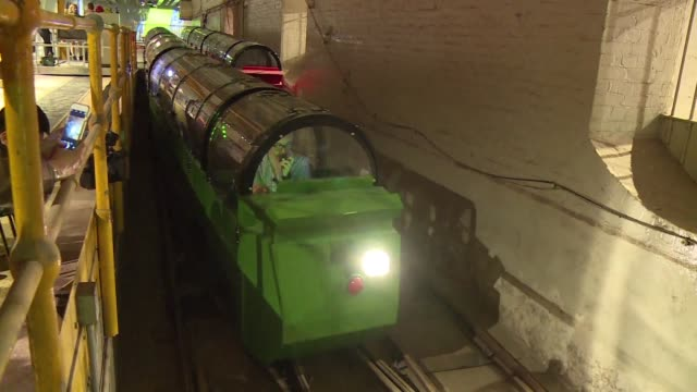 Deep under the streets of London for decades the Mail Rail used to transport up to 4 million letters a day between the city's main sorting offices...