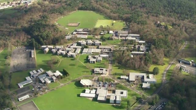deepcut barracks deaths private cheryl james inquest coroner records suicide verdict woking air view / aerial deepcut army base - barracks stock videos & royalty-free footage