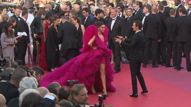 deepika padukone at les eternelles' red carpet arrivals the 71st annual cannes film festival on may 11 2018 in cannes france - 71st international cannes film festival stock videos & royalty-free footage